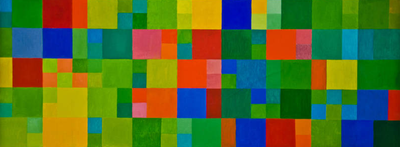 Section from a paiting by Johannes Itten: Fall.