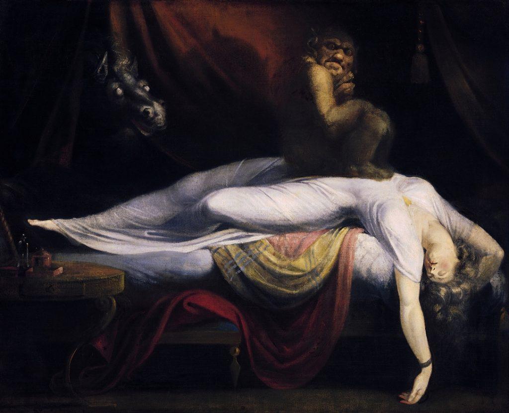 The Nightmare, John Henry Fuseli, 1781